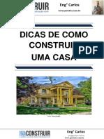 Dicas de Como Construir Uma Casa