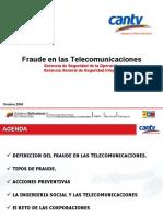 Fraude en Telecomunicaciones