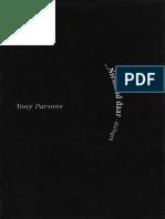 Tony Parsons - ...Niemand daar