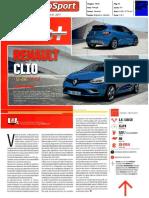 """NOVO RENAULT CLIO 1.5 dCi 110 GT LINE NO """"AUTOSPORT"""""""