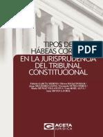 Tipos de Habeas Corpus