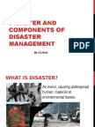Disaster and Components of Disaster Mansgement