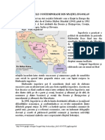 Tema 8  CONFLICTELE CONTEMPORANE DIN SPAŢIUL IUGOSLAV.doc