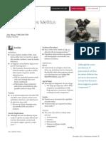 Canine Diabetes Mellitus