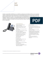 8001 DeskPhone Datasheet ES