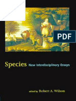 Robert a Wilson Species New Interdisciplinary Essays