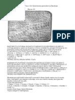 Tablitele de La Sinaia-traduceri