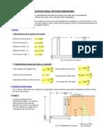 Mathcad - Diseño Estructural Poza Disipadora