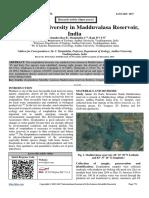 Zooplankton Diversity in Madduvalasa Reservoir, India