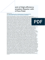 Development of High Efficiency Polycondensation Reactor.docx