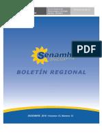 Boletin de Senamhi-Junin DZ-11 Diciembre 2016