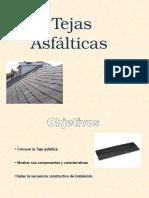 Tejas Asfalticas....
