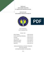 Manajemen Strategi PT.kai