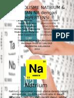 Metabolisme Natrium & Kaitan Na Dengan Hipertensi