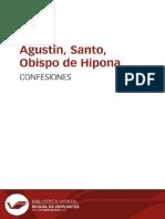 Agustín - Confesiones (1)