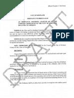 Proposed Kirtland Animal Law Amendment