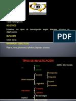 (1) Tipos de Investigacion