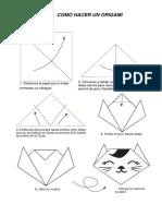 Gato Origami