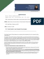 FL-Gov Cherry Communications for Florida Chamber of Commerce (Dec. 2016)