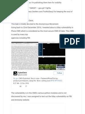 The Pastebin Dump w/ Imbedded Images - CyberZeist Hacks the