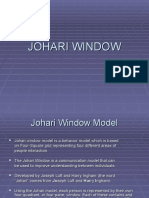 Johari Window Ppt