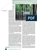Exchanging experiences on sustainable forest management