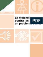 Es Violencia Mujeres Un Problema Social