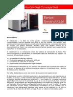 Nebulizador Varian SpectraAA220