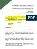 Modelo Artigo Formatado