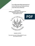 Luis Escobedo - El Racismo en Los Discursos Historiográficos y Literarios