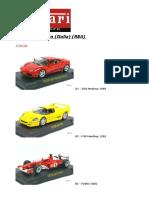 Coleccion Ferrari Collection Ixo Rba Italia