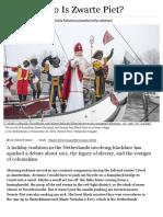 Who is Zwarte Piet_ _ VQR Online