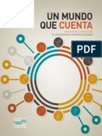 NU GAEI 2014 Un Mundo Que Cuenta Revolución de Los Datos Para El Desarrollo Sostenible