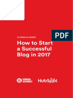 How to Launch a Successful Blog in 2017