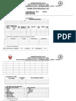 Formatos Para Informes 2016