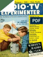Radio TV Experimenter 1960 Spring Regen 20m 6m Converter