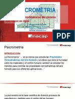 REFRIGERACION Y GENERACION DE VAPOR 04 2016 Psicrometria.pptx
