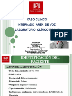 Caso Papilomatosis