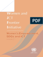 Women's Empowerment, SDGs and ICT
