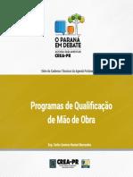 Programas de Qualificacao de Mao de Obra
