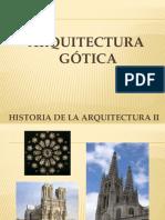 2 ARQUITECTURA GÓTICA