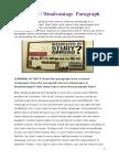 Paragraphs advantages.docx