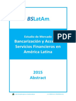 BancarizacionYAdopcionServiciosFinancierosPaisesAmericaLatinaEstudioDeMercadoBSLatAmAbstract