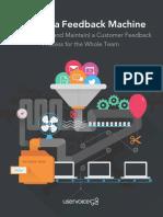 Building a Customer Feedback Machine eBook