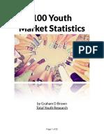 100 Youth Market Statistics PDF