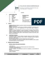 Sílabo Economía General 2017-0, Curso de Verano UDH