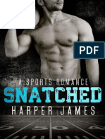 SNATCHED (a Sports Romance) - Harper James