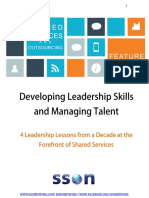 Developing Leadership Skills and Managing talent