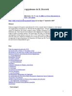 La Société Secrète Égyptienne de B. Drovetti - Gerald GALTIER 2006