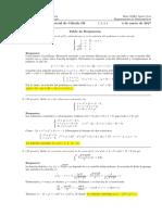 Corrección Segundo Parcial de Cálculo III, 4 de enero (tarde) de 2017
